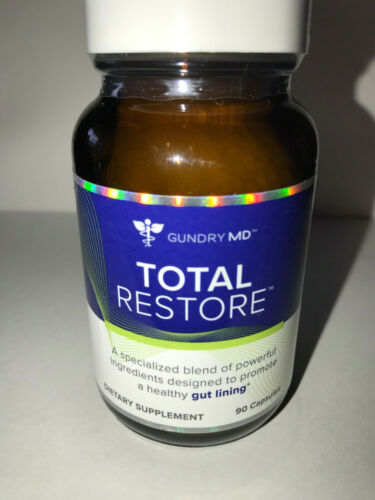 GUNDRY MD TOTAL RESTORE    Authentic & Fresh   90 CAPSULES   Ships FREE SAME DAY