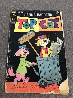 Top Cat #27 (Gold Key Comics 1969) Silver Age, TV Hanna-Barbera Cartoon