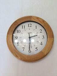 Atomix Radio Controlled Clock 12 Inch