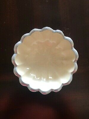 "Julia Knight 5"" Oval Peony Bowl, Snow (4590046)"