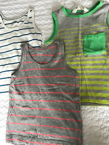 Cotton tank tops. Toddler boy 18-24 months.