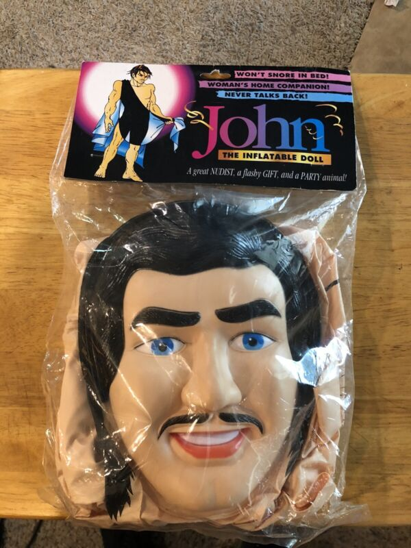 Male Blow Up Doll Bachelorette Party Inflatable Prop Gag Gift John Man Blowup