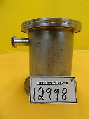 Mks Instruments High Vacuum Tube Tee Stainless Iso100 Iso-k Nw16 5.5 Hps Used