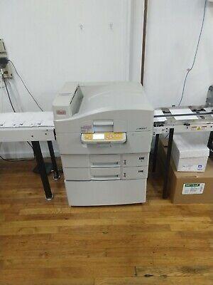 Oki Pro900dp Digital Envelope Printer With Feeder And Conveyor