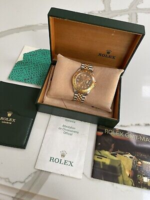 Rolex GMT Master II 16713 Box and Papers 2003 RootBeer Full Set & MINT