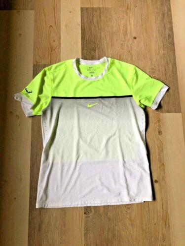 Nike Nadal Challenger Premier Crew Tennis Shirt Large