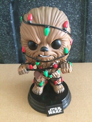 Funko Pop! Star Wars Chewbacca (Christmas Lights) #278 Holiday Exclusive