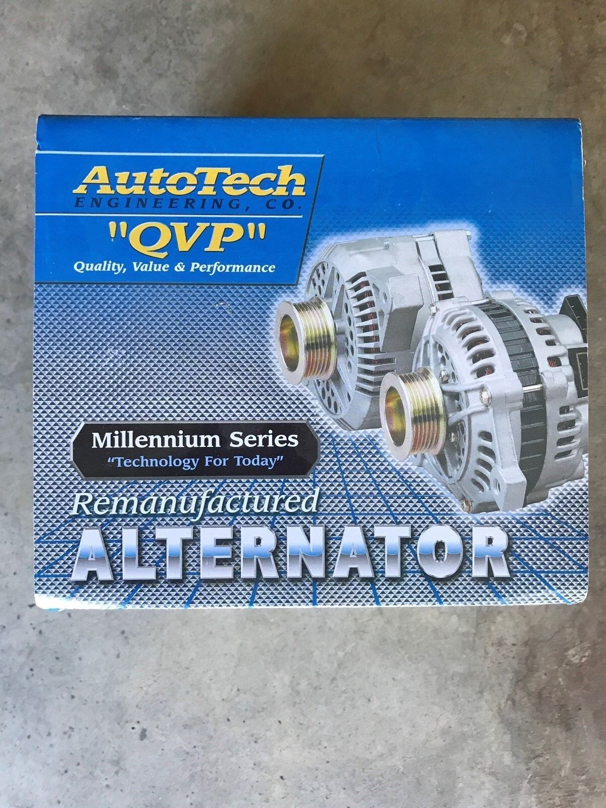 Autotech Re-manufactured Alternator Millennium Series 7861-7 0
