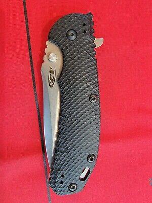 Zero Tolerance ZT 0560 Hinderer ELMAX Titanium frame lock knife (Discontinued)