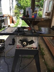 Craftsman 10 in table saw