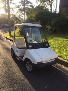 Yamaha sunclassic golf cart with trailer Mangerton Wollongong Area Preview