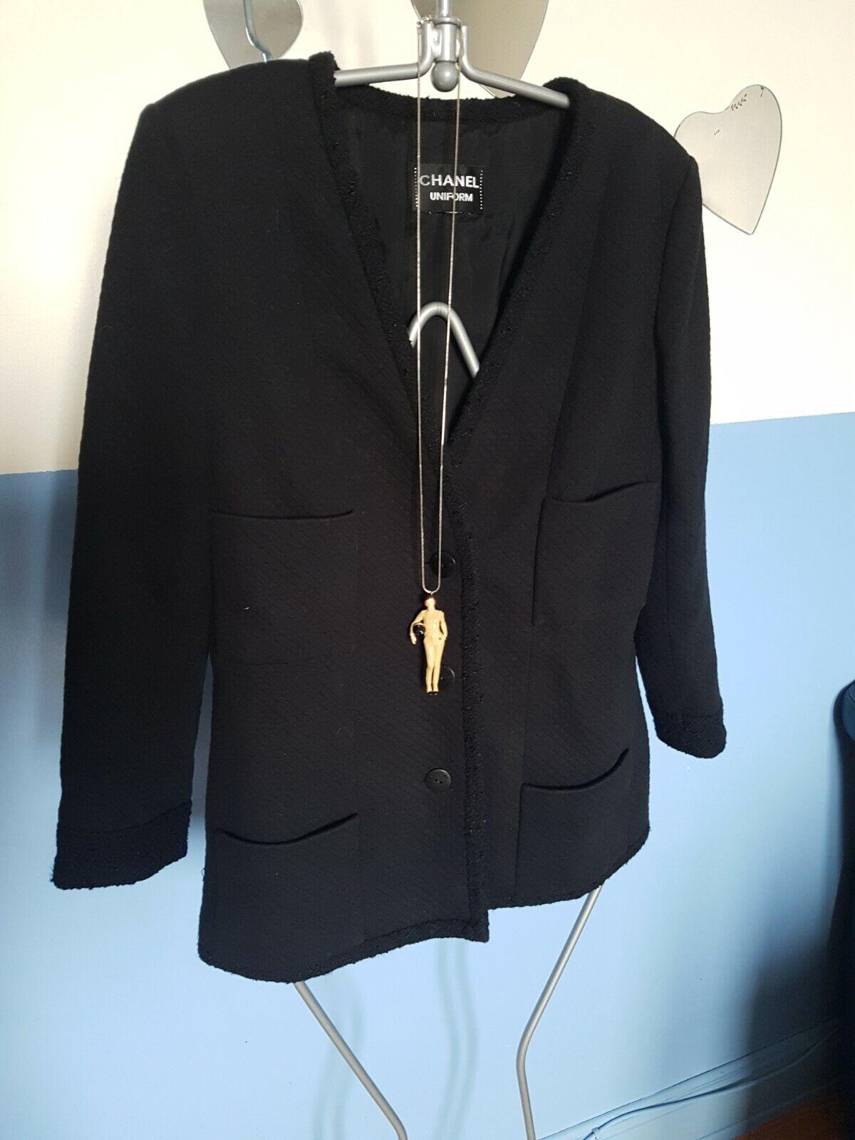 Authentique et superbe veste/gilet chanel /  taille - 38 /  ex - etat