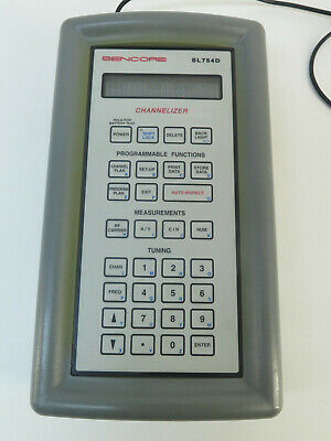 Sencore Sl754d Channelizer Cable Tester Used