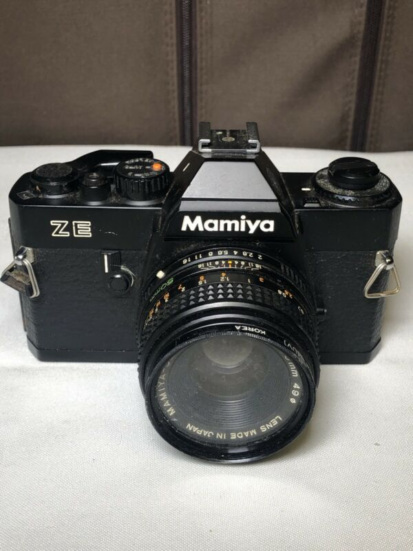 Mamiya ZE 35MM Vintage Film Camera