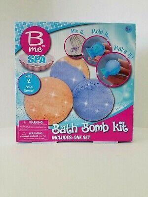 Kids Spa Bath Bomb Kit - DIY - Makes 2 - NEW In Box - B ME - SHIPS FREE! Bath Bomb Kit
