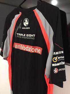 Team Vodafone raceing signed shirt