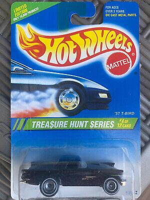 Hot Wheels. 1995 Treasure Hunt Series. '57 T-BIRD. #4 OF 12