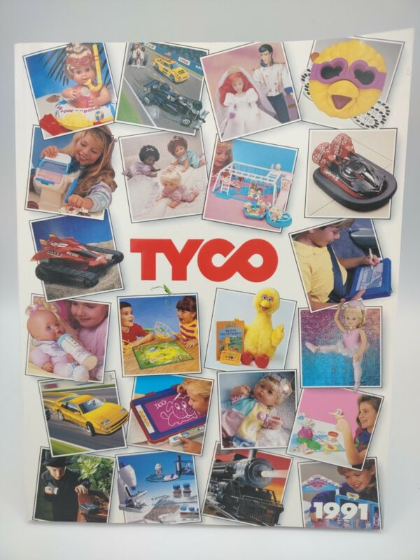 Tyco Toys 1991 Catalog- features Matchbox Chattanooga Choo Choo & Quints