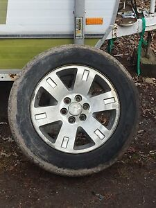 4 chev/gmc rims and tires