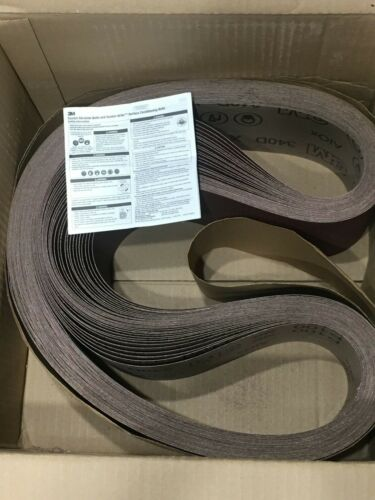 3M Cloth Belt 340D, P100 X-weight, 4 in x 66 in, Film-lok, Single-flex, 30 Belts