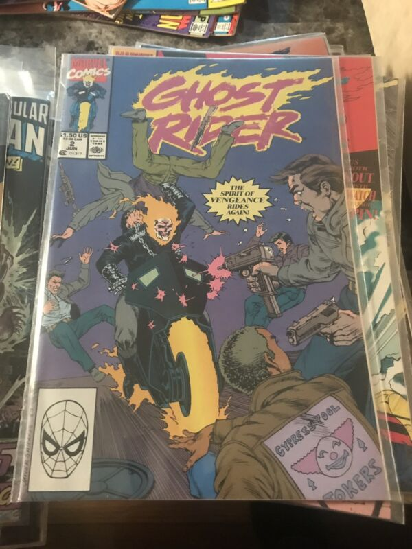 Ghost Rider Lot Including #1