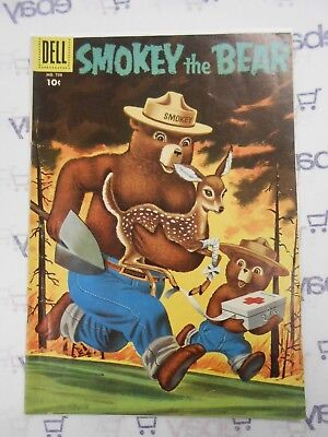 Four Color Comics #708 (1956 Dell) VG/FN 5.0 Rare Silver Age Smokey The Bear