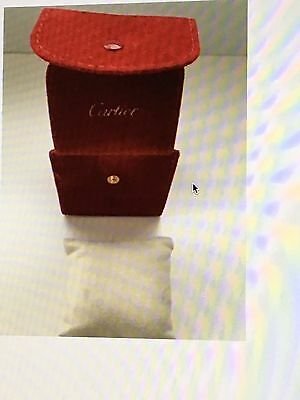 Another available: authentic cartier travel watch box velvet with pillow