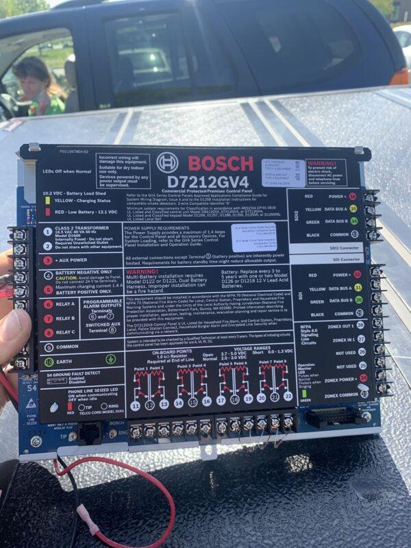 Intrusion Alarm Systems | D7212GV4 Control Panel