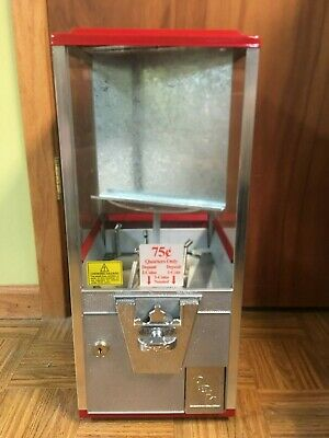 25 Cent Quarter Vend New Big Oak 2 Capsule Toy Vending Machine Mech Mechanism