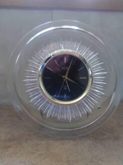 Vintage Glass Alarm Clock