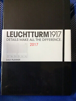 Leuchtturm 1917 Daily Planner 2017hard Cover.can Use As A Journaldiaries.