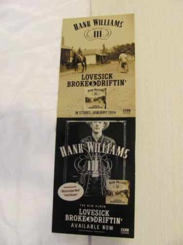 Hank Williams III Lovesick Broke and Driftin