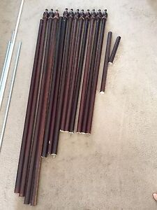 Wooden Curtain Rings Curtains Blinds Gumtree