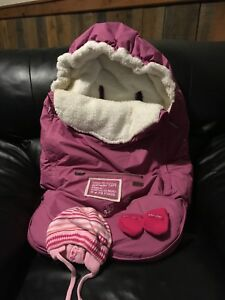 New born outerwear for car seat
