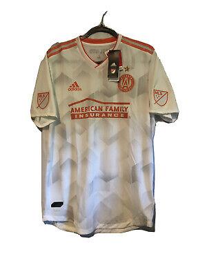 Adidas Atlanta United FC Away 2018/2019 MLS Soccer Jersey - LARGE. NWT image