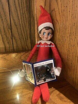 Christmas Shelf Elf accessories, The Polar Express Book