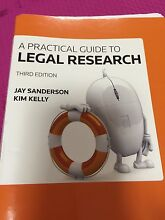 A Practical guide to legal research 3rd edition Townsville 4810 Townsville City Preview
