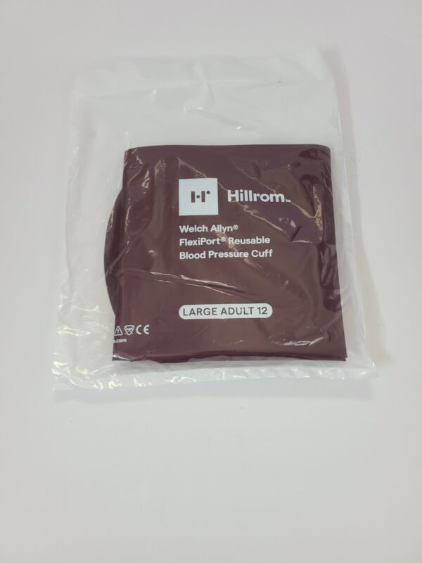 Welch Allyn Blood Pressure Cuff Reusable LARGE ADULT #REUSE-12 NEW