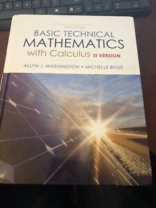 Basic Technical Mathematics with Calculus Si