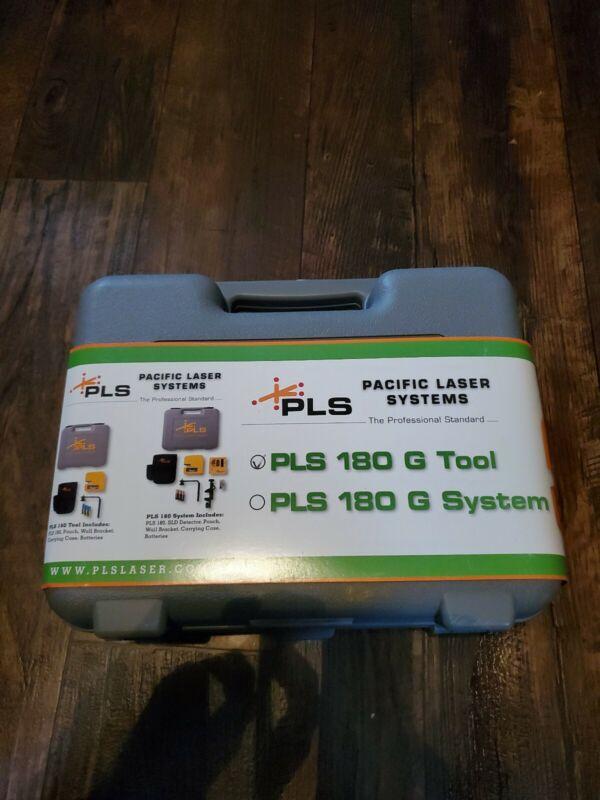 PLS 60596 180 G Green Laser Tool New