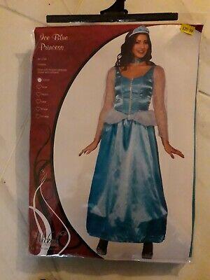Ice blue princess fancy dress costumes extra small brand new packet high (Ice Princess Fancy Dress Kostüm)
