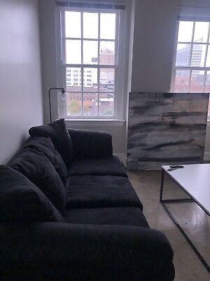 2 Piece sofa set living room new-familiar