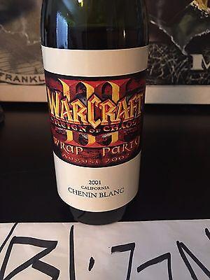 Blizzard WARCRAFT III 3 Wrap Party SOUVENIR Bottle from Employee appreciation!!!