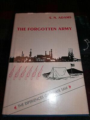 ADAMS Signed THE FORGOTTEN ARMY Experiences of Private Sam Vladivostok 1918-1919