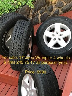 Jeep Wrangler Tyres and Rims