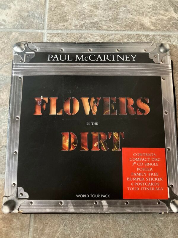 Paul McCartney Flowers In The Dirt World Tour Pack