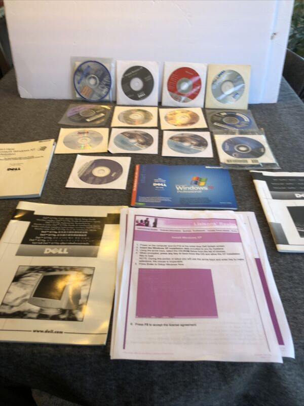 Lot Of Computer Programs And Booklets