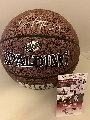 6cf8d385 Kris Dunn Chicago Bulls signed Full Size F/S NBA Basketball Ball autographed  JSA