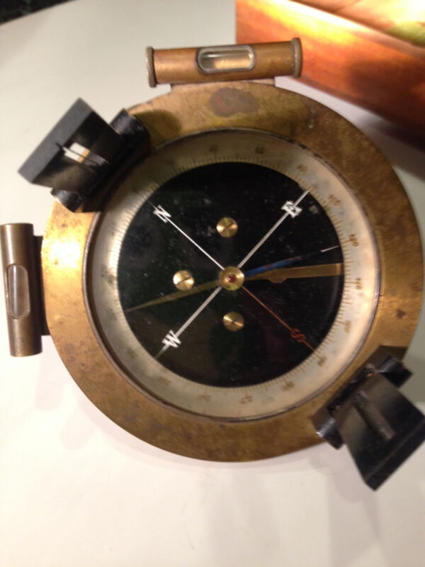 French Surveying Compass 1860-1880