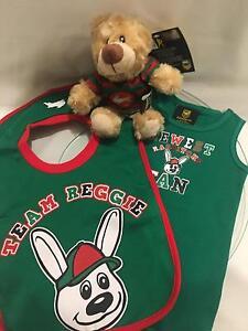 NRL Rabbitohs Singlet & Bib Set Loganholme Logan Area Preview